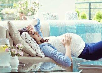 кружится голова у беременной