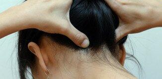 Сняте головной боли с помощью массажа